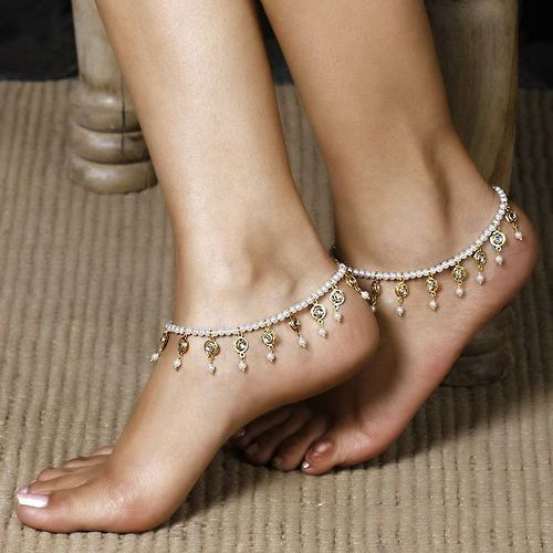 1pcs Turkish anklet for women leg bracelet Feet Jewelry barefoot Sandals Retro ankle chain bohemia Foot jewellery(China (Mainland))