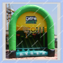 Hot Inflatable Chip Shot Golf Game 5m by 4m Inflatable Golf Sports Game(China (Mainland))