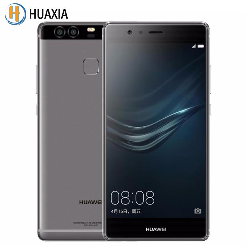 Original Huawei P9 EVA-DL00 3GB RAM 32GB ROM 5.2 Inch Android 6.0 SmartPhone 4G LTE Octa Core 3000mAh 12.0MP Moblie Cell Phone(China (Mainland))