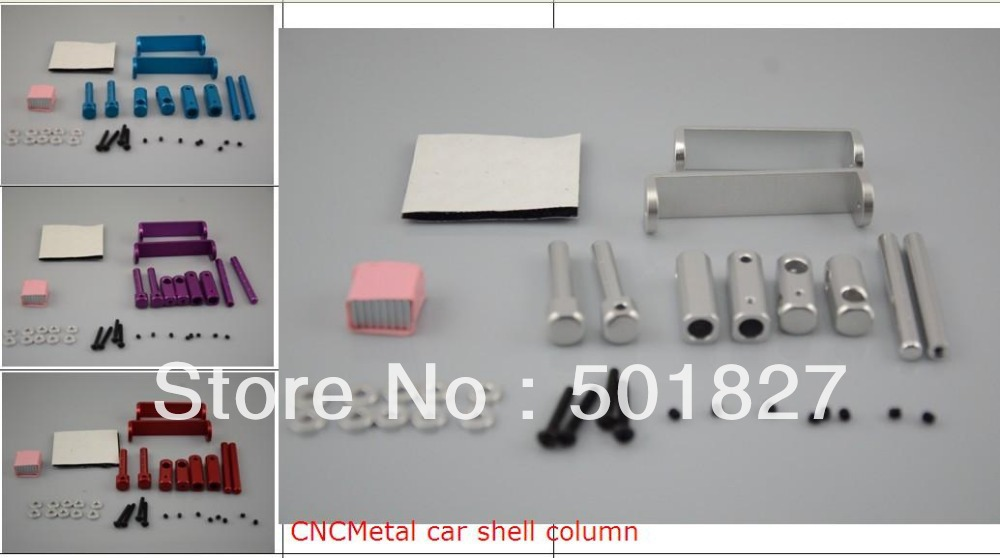 car accessories CNC Aluminum alloy car shell body column for 1:10 RC car free shipping(China (Mainland))