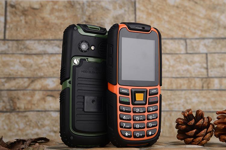Original S6 IP67 Waterproof Phone 2500mAh Battery Long Standby Loud Sound Shockproof Outdoor Phone Old Man Elder Phone Russian(China (Mainland))