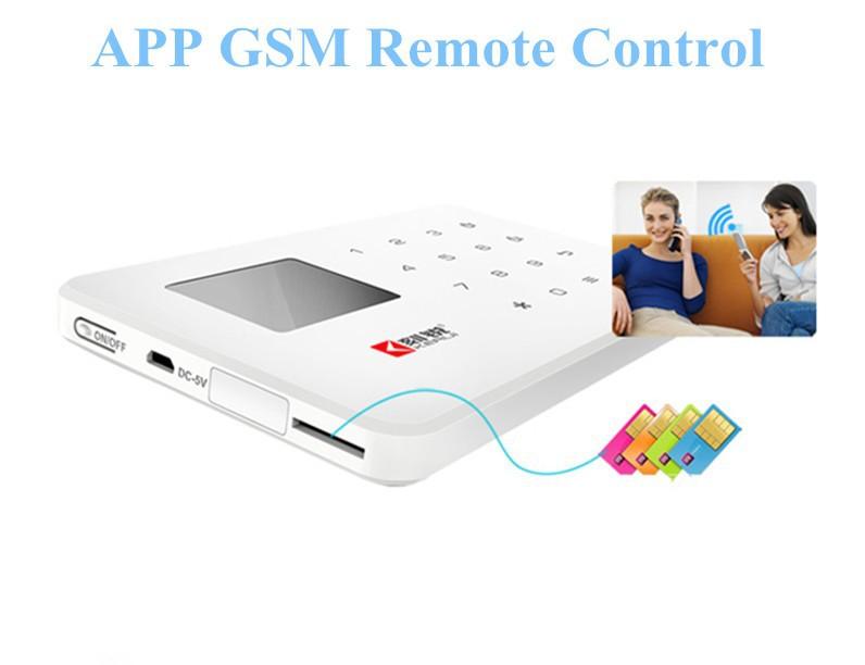Купить супер тонкая охранная GSM система, сигнализация, приложение для Android и iOS