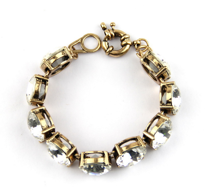Crystal Bracelets Wholesale Bracelet Dot Clear Crystal