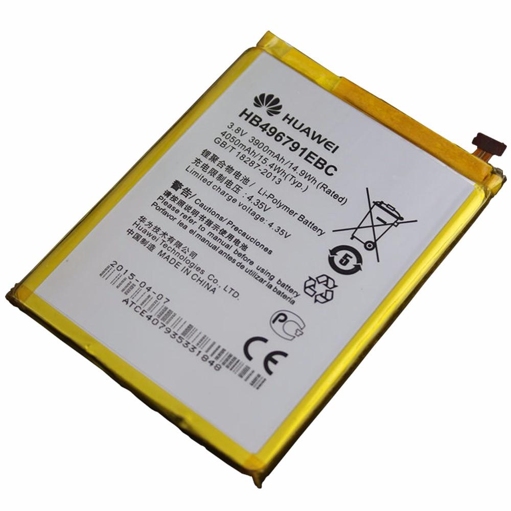 100% Huwawei original 3900mAh HB496791EBC battery for huawei mate U06 Ascend MT1-U06 mobile phone battery free shipping