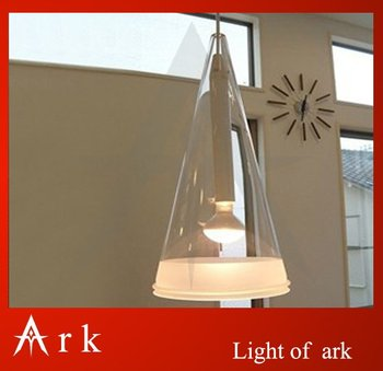 ARK LIGHT Modern brief single-head fucsia pendant light wind chimes restaurant lamp bar lamps
