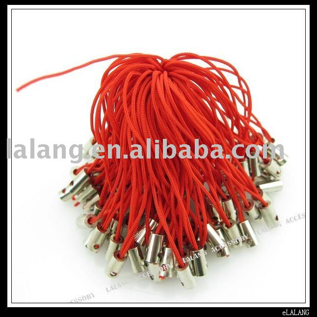 300x Red Cell Phone Strap Lariat Lanyard 130128(China (Mainland))