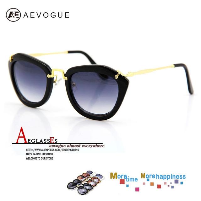 Солнцезащитные очки aevogue бренд класса люкс мода женщин наиболее популярные солнцезащитные очки горячая распродажа gafas / óculos de sol 20 шт./лот AE0073