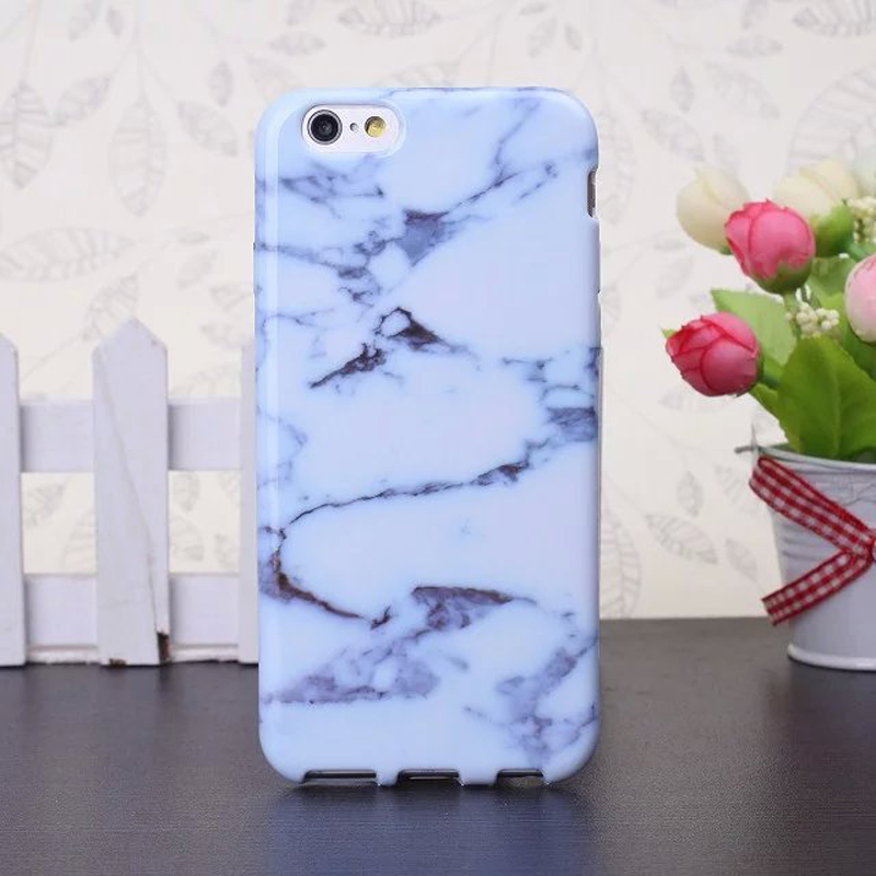 Phone Cases For iPhone 6 Case Marble Stone image Painted Cover Soft TPU Mobile Bags Capa Case For Apple iphone6 6S 4.7 inch(China (Mainland))