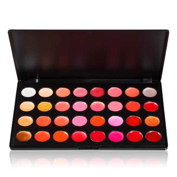 Гаджет  BS#S Professional 32 Color Gorgeous Lip Gloss Lipstick Makeup Cosmetic Palette Wholesale Promotion None Красота и здоровье