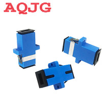 Buy New Carrier-Class Fiber Optic Connector Adapter SC / UPC SM Flange Singlemode Simplex SC-SC Coupler 100pcs / lots Wholesale for $35.80 in AliExpress store