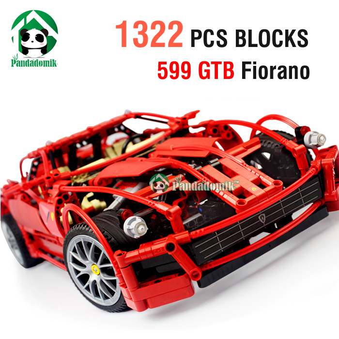 Super Large Building Blocks Set 1322 Pcs Decool 1:10 Racing Car Scale Bricks Car Styling Model Building Kits Children's Toys(China (Mainland))