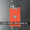 10PC LOT AAA quality LCD Glass Screen For Iphone 5C Black Touch Panel Digitizer Assembly Complete