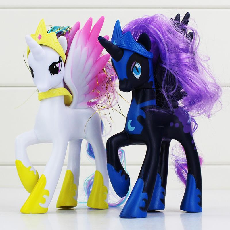 Princess Celestia Twilight Sparkle Figure Toys PVC Model Dolls Best Gift Collective Toys 14cm Free Shipping<br><br>Aliexpress