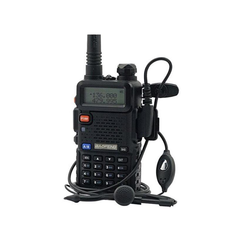 Двухстороннее радио baofeng уф-5r рация 5 Вт 128CH UHF укв чм VOX Pofung UV-5R любительское радио для автомобиля