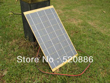 10W Solar Cell solar panel 10Watt 12 Volt Garden Fountain pond Battery Charger +Diode - ECOWORTHY Official Store store