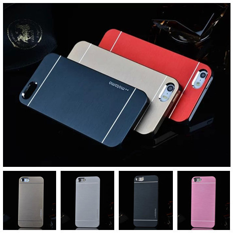 Deluxe Ultra thin Toughened Brushed Metal Hard Back Case Apple iPhone4 4S 4G Aluminum Phone Bag Cases - Damon Trading (HK store Co.,Ltd)