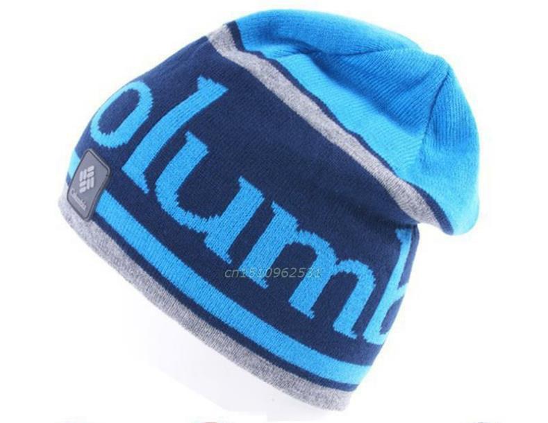 Hot selling!!!Winter Double Geometric patterns Men Hats Warm Women Cap Knitted Fleece lining Thicken Skullies Beanie(China (Mainland))