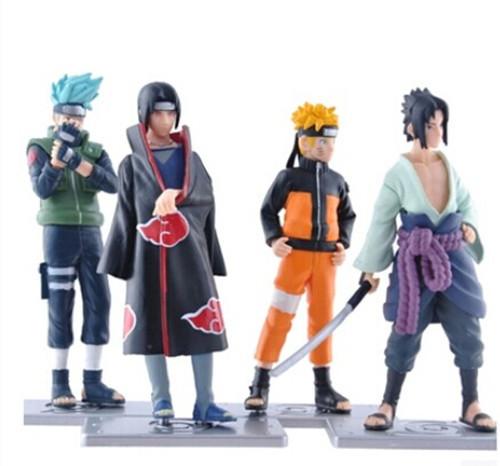 Гаджет  Naruto 1set 12cm/4.7inch Good PVC Anime 17th Generation Naruto Model Toy Action Figure 4pcs/set For Decoration Collection Gift None Игрушки и Хобби