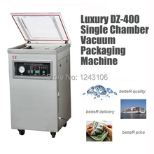DZ-400 stainless steel big power vacuum packaging machine, finish,rice commercial vacuum sealer,industrial vacuum package machin