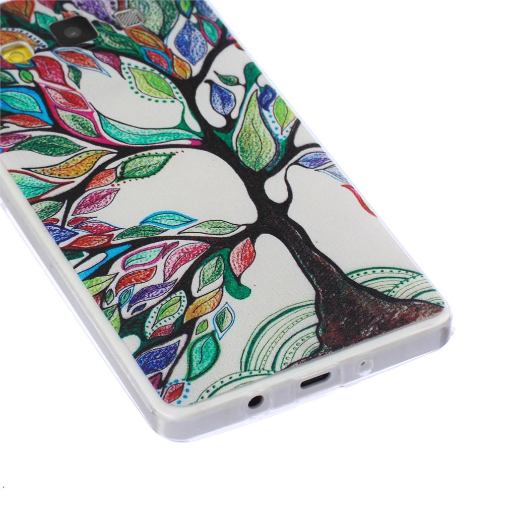 For Samsung A5 Ultrathin TPU Fashion Emboss Painting Cases For Samsung Galaxy A5 Case A500 Cover