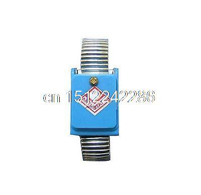 1PC metal antistatic wrist strip, silver color loop, wireless(China (Mainland))