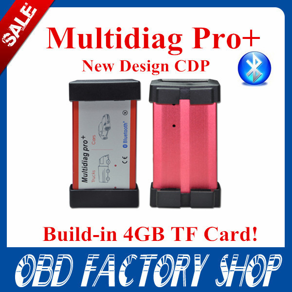 Free ship 2015 New Multidiag pro CDP 4G TF Card+2014.R2+full set+bluetooth CDP software &install video TCS Multidiag pro+(China (Mainland))