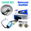 Factory Outlet Free Shipping New 35W 3500LM H4 H6 DC10 30V Hi Lo LED Motorcycle Headlight