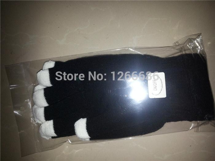 150pairs/lot led glove rave light led finger light gloves light up glove for party favor(China (Mainland))