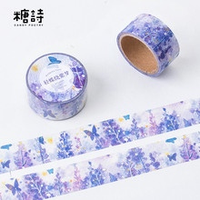 Buy 20 pcs/lot DIY Cartoon Paper Washi Masking Tapes realm of aestheticism decorative adhesive tape stickers/School Supplies 20mm*7M for $19.90 in AliExpress store