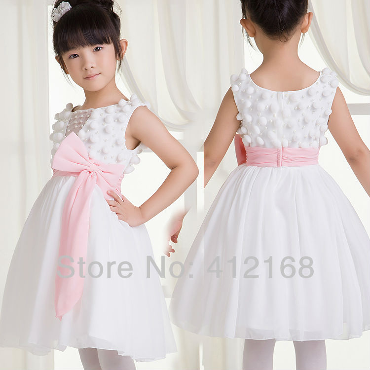 factory promotion direct customes flower girl dresses for