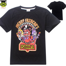 Garçons Vêtements de Bande Dessinée Enfants T Chemises Cinq Nuits À Freddy de Filles Vêtements T-shirt Enfants Vêtements Garçons T-Shirt 5 Freddys Tops(China (Mainland))