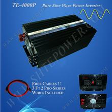 off grid 4kw 48v dc converter to 110v 230v ac pure sine wave(China (Mainland))