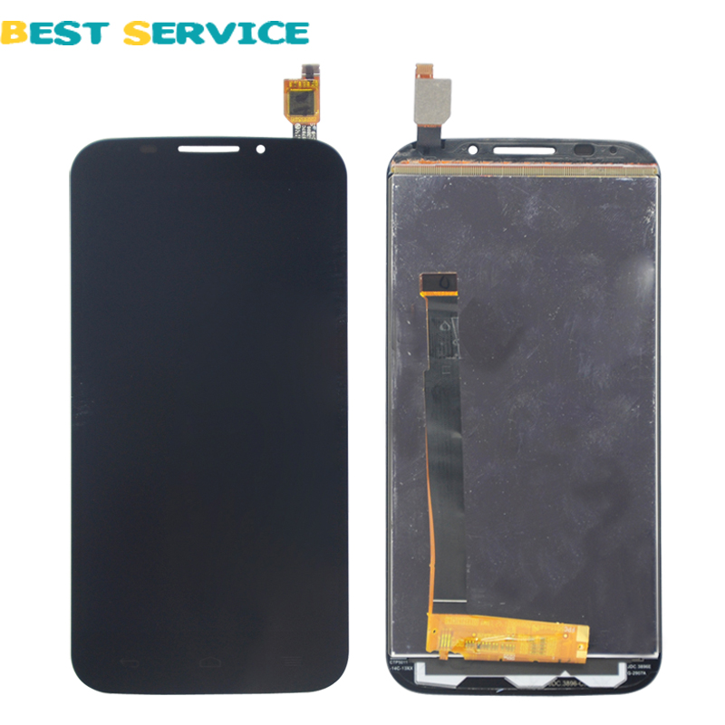 For Alcatel One Touch Pop S7 OT7045 7045 LCD Display With Touch Screen Digitizer Assembly Free shipping(China (Mainland))