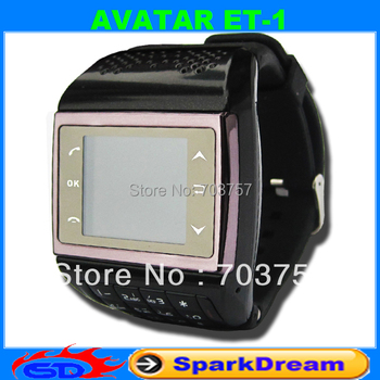 AVATAR ET-1 Phone Watch With Quadband + Numberic Keypad + FM + Voice Dialling + 1.33 Full touch screen