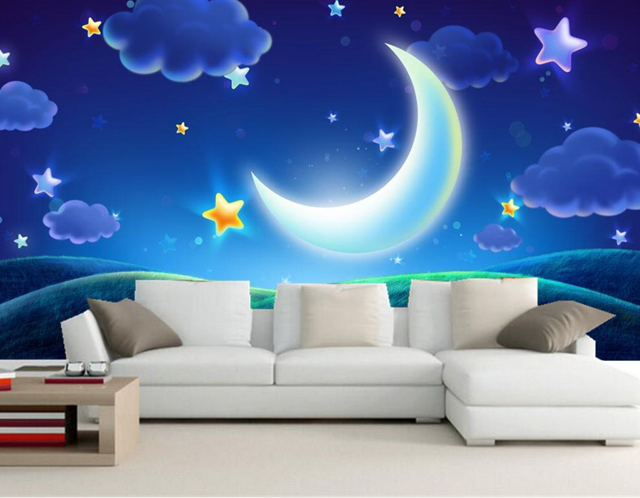 Popular night sky wallpapers buy cheap night sky for 3d wallpaper for dream home