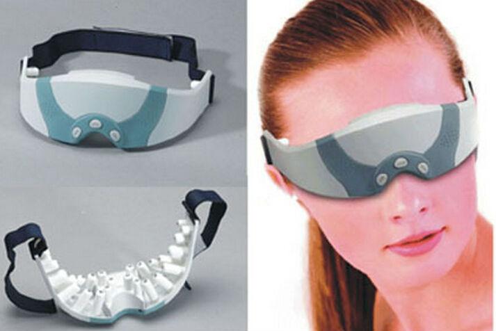 produto 10pcs  Electric Eye Massageador Eye Care Massager Alleviate health Monitors Massagem For Student&Computer user Eye Protect