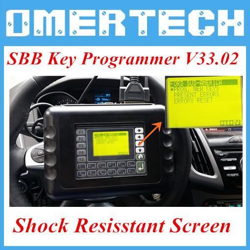 2015 Good Quality SBB Auto Key Programmer Newest Version V33.02 SBB Key Programmer with Multi-language Fast and Free Shipping(China (Mainland))