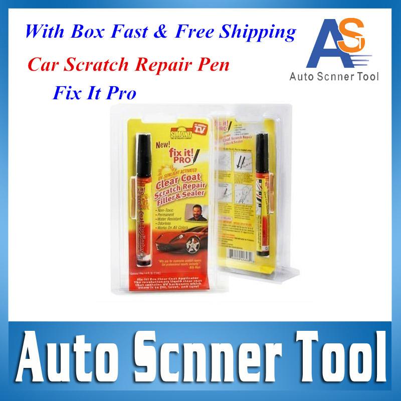 2016 Hot Selling 1PCS Fix It Pro Car Repair pen Clear Car Scratch Repair Car Pen Simoniz Clear Coat Applicator For Multi-brands(China (Mainland))