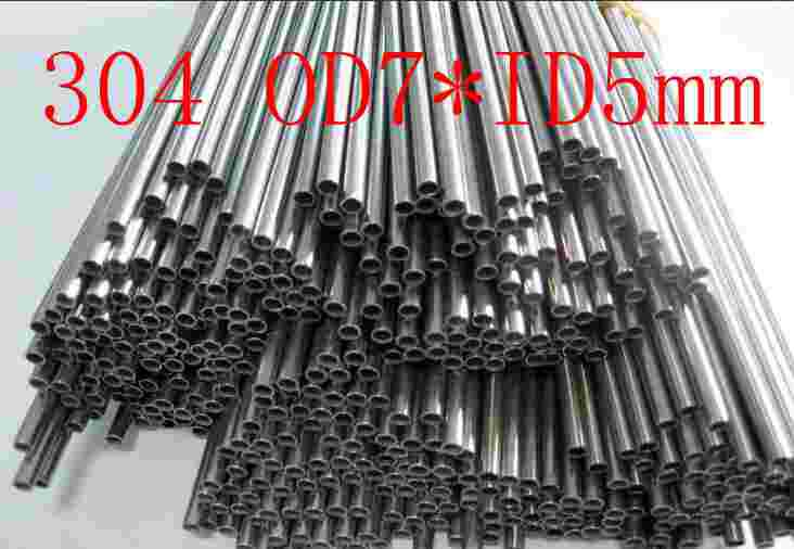 OD7XID5mm,304 321 316 thick wall or thin wall small tube corrosion resistance to acid and alkali Capillary stainless steel pipe(China (Mainland))