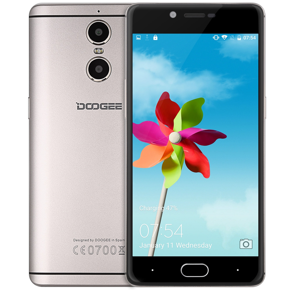 Doogee Shoot 1 4G Android 6.0 5.5 Inch Mobile Phones MTK6737 1.5GHz Quad Core 2GB+16GB 8.0MP + 13.0MP Rear Cameras Smartphone(China (Mainland))