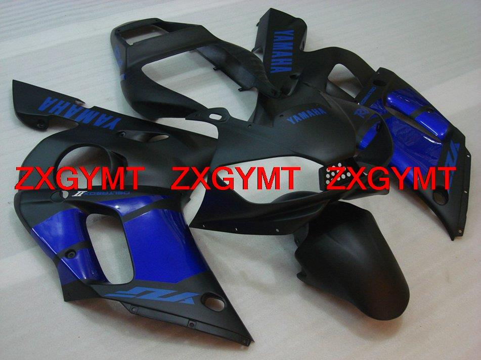 Bodywork YZF R6 01 02 Matter Black Blue Injection moulding Fairings YZFR6 2000 year: 98 - 02 ZXGYMT(China (Mainland))