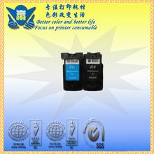 Pg210 cl211 cartucho de tinta para impressora canon pg-210 cl-211 mp250 mp270 mp280 mp480 mp490 pixma ip2700 211xlfor ip2702(China (Mainland))