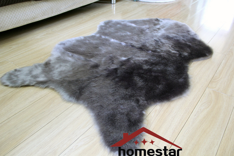 Luxury Shaggy Carpet Animal Skin Rug Faux Fur Rug