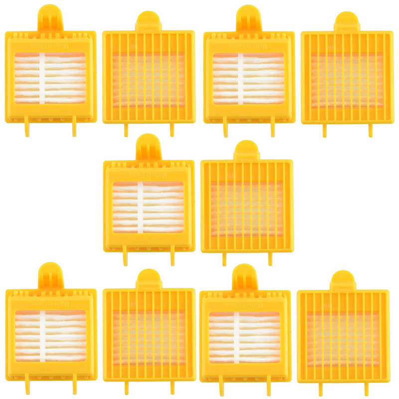 10 Pieces Filter for iRobot Roomba 700 Series 750 760 770 780 790 Vacuum Cleaner Hepa Filter Wholesale(China (Mainland))