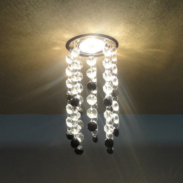 Fashion led k9 Crystal Ceiling Lights / LED Light / led lustre light led Restaurant Ceiling lamps Bedroom 3W Crystal Lighting(China (Mainland))