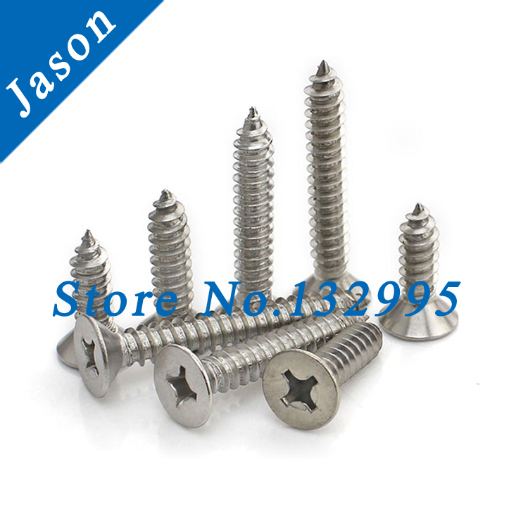 ST2.0*8 Stainless Steel A2 self-tapping screw Flat head tapping screw Countersunk head self tapping screws SUS 304 ST2.0*L<br><br>Aliexpress