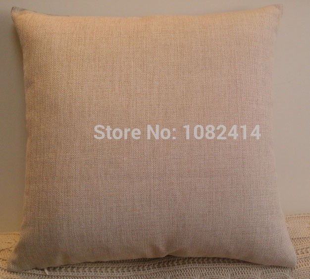 Cotton linen modern style simple love and simple Cushion cover with customized size