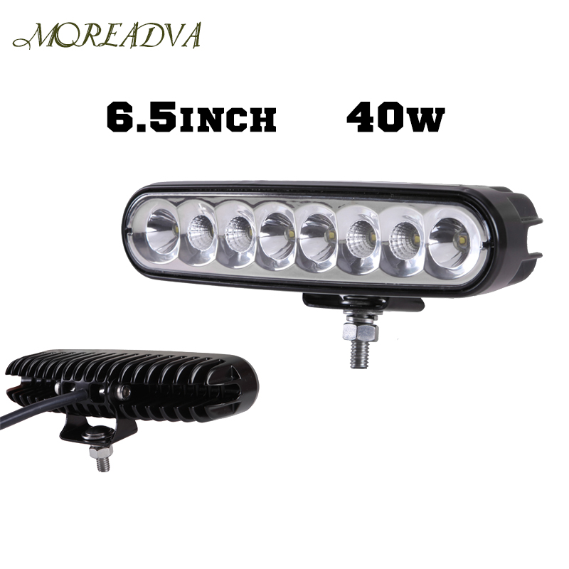 6.5 Inch 40W Led Driving Light Bar Offroad Day Time Running Lights Combo Beam 4x4 Truck ATV Reverse Motorcycle Light18W/27W - LITE-WAY STORE store