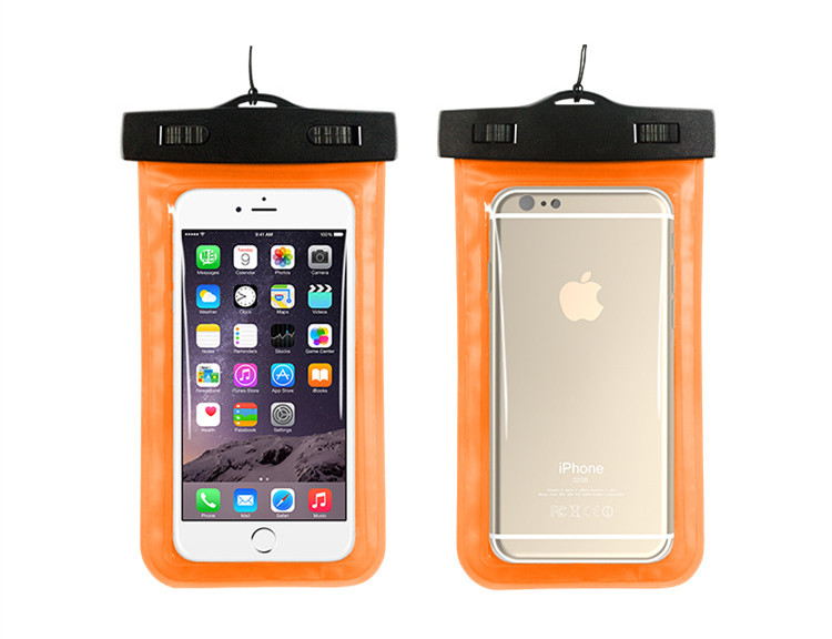 New Transparent Sealed Waterproof Underwater Pouch Bag Case For Xiaomi Redmi Note 2 Cover Mobile Phone Accessories