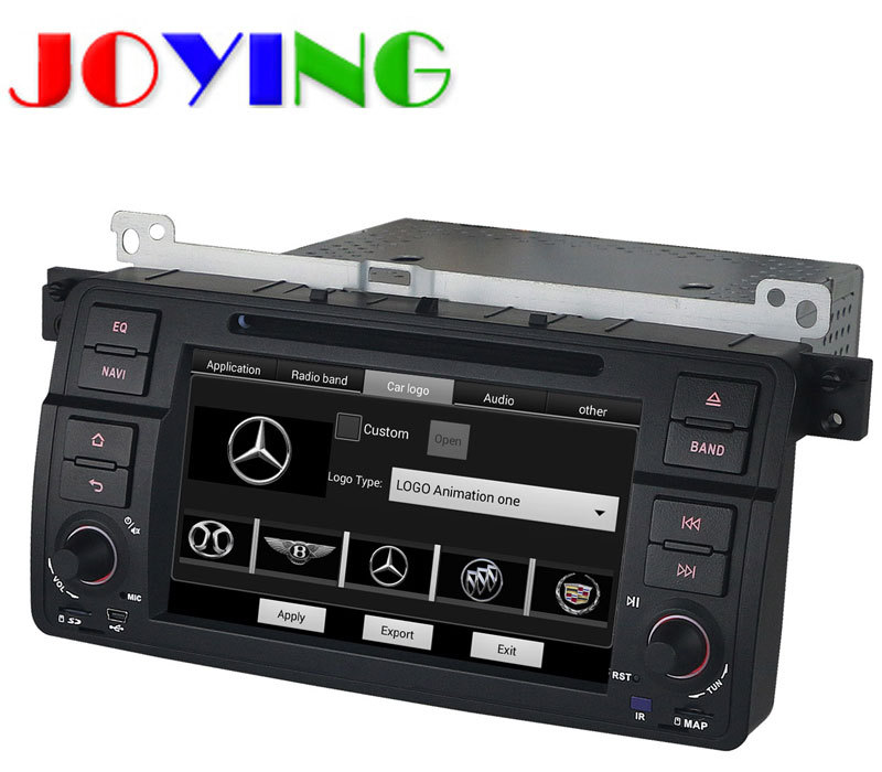 "Quad core Android 4.4 1 din 7"" Car PC DVD Radio Stereo Audio GPS for BMW E46 / M3 1998-2005 With 3G / WIFI MP3 TV AUX IN Canbus(China (Mainland))"